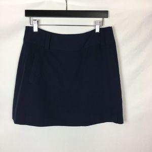 Sport Haley Dress Golf Skort Solid Blue Pockets